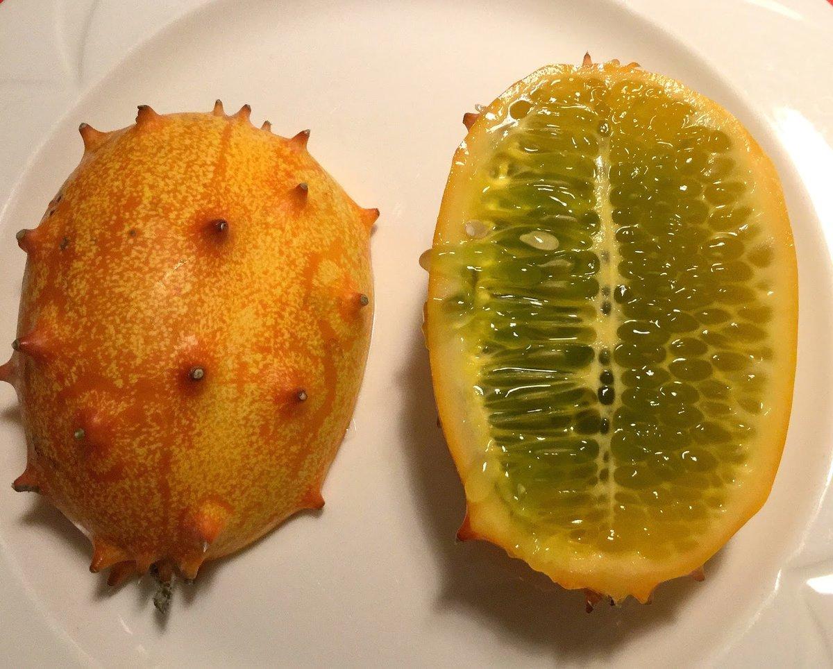 Рогатая дыня ? или кивано [что это за фрукт ❓] #фото #описание #вкус