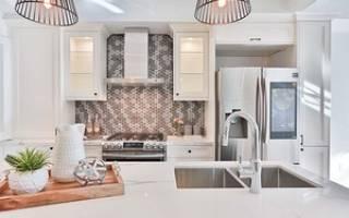 Фальш панель для кухни: фото в интерьере, установка и выбор материала