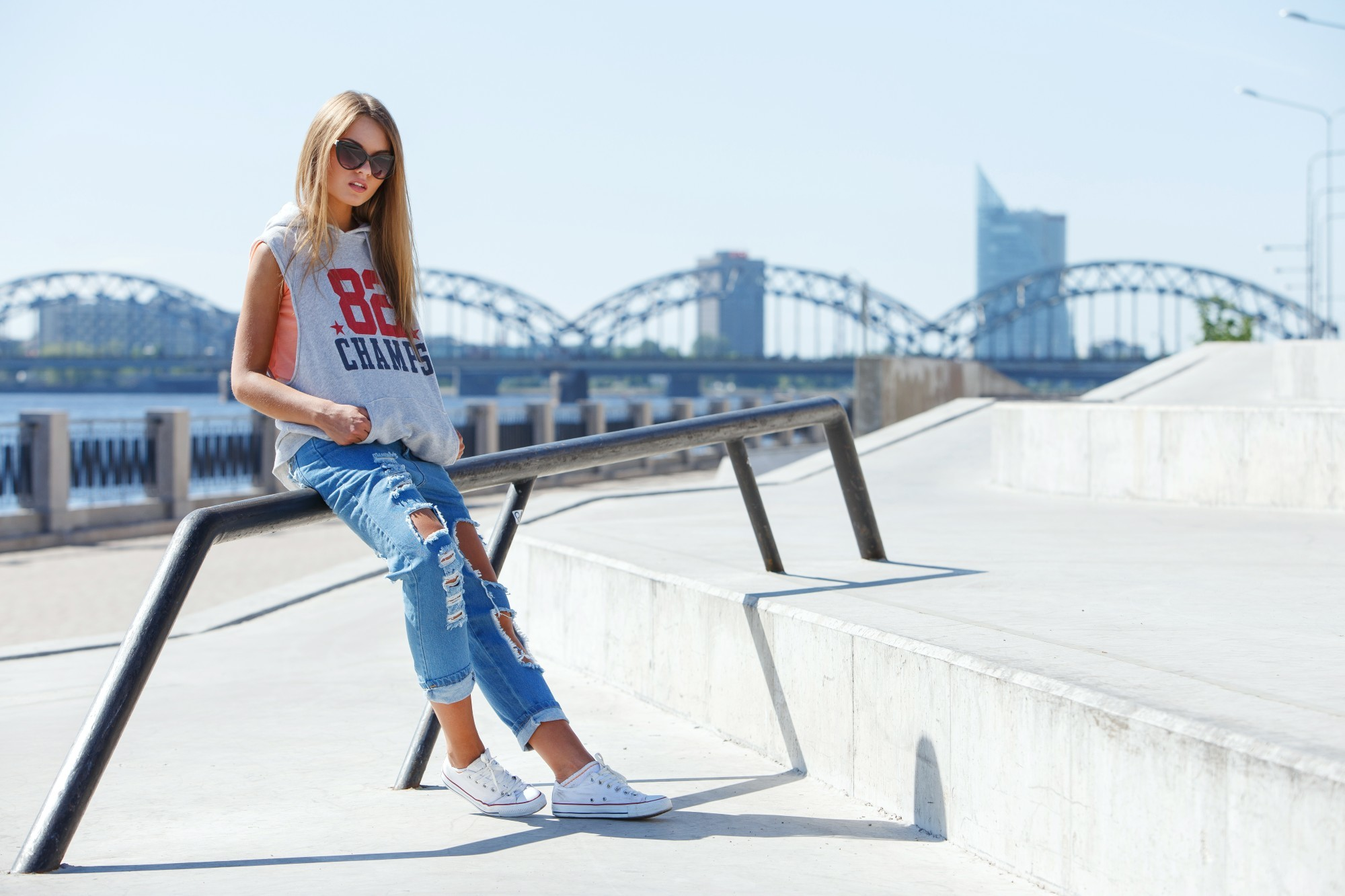 How to pinroll jeans the right way