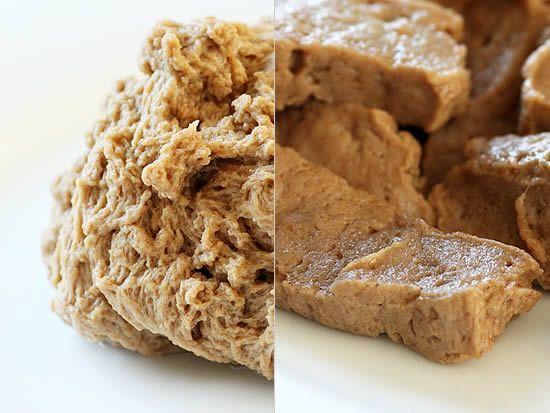 Сейтан— вегетарианский продукт, который богат растительным белком и может заменить мясо
