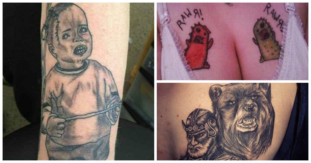 Что такое партак тату? неудачные татуировки