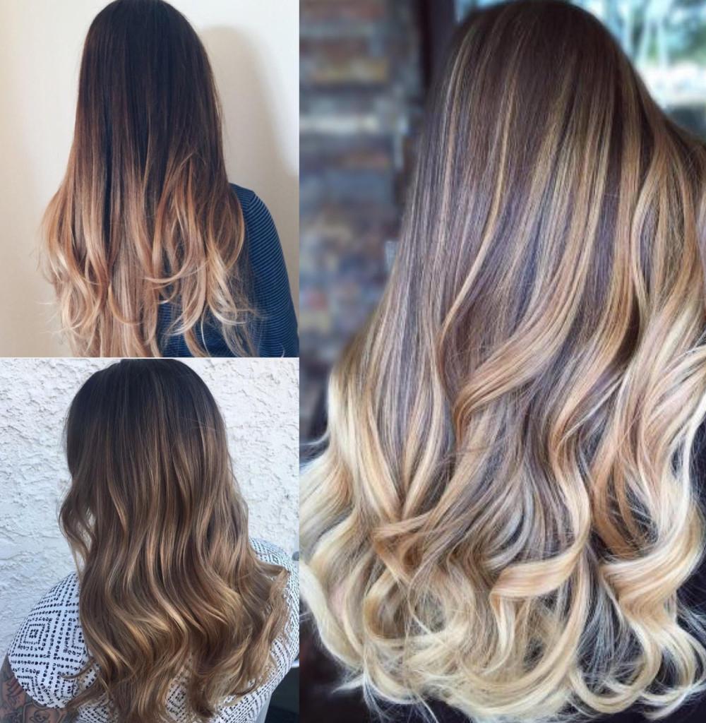 Выбор омбре в зависимости от длины и цвета волос. правила самостоятельного окрашивания