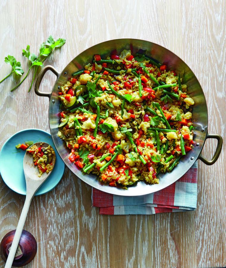 Паэлья альмерия – кулинарный рецепт