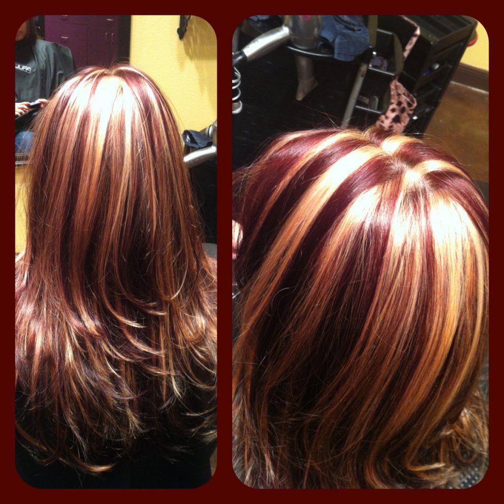 Колорирование волос на темные, светлые, короткие, средние, длинные волосы – фото