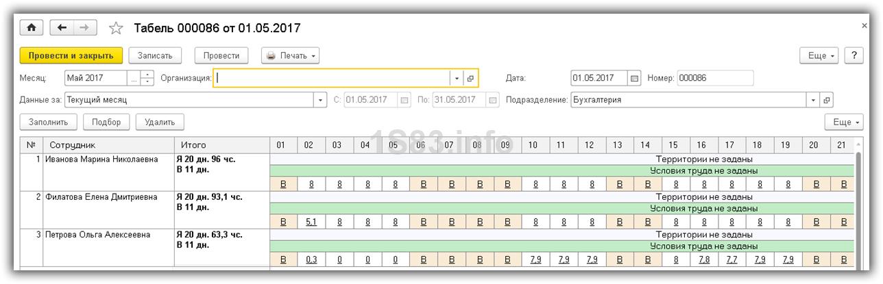 Организация суммированного учета рабочего времени — audit-it.ru