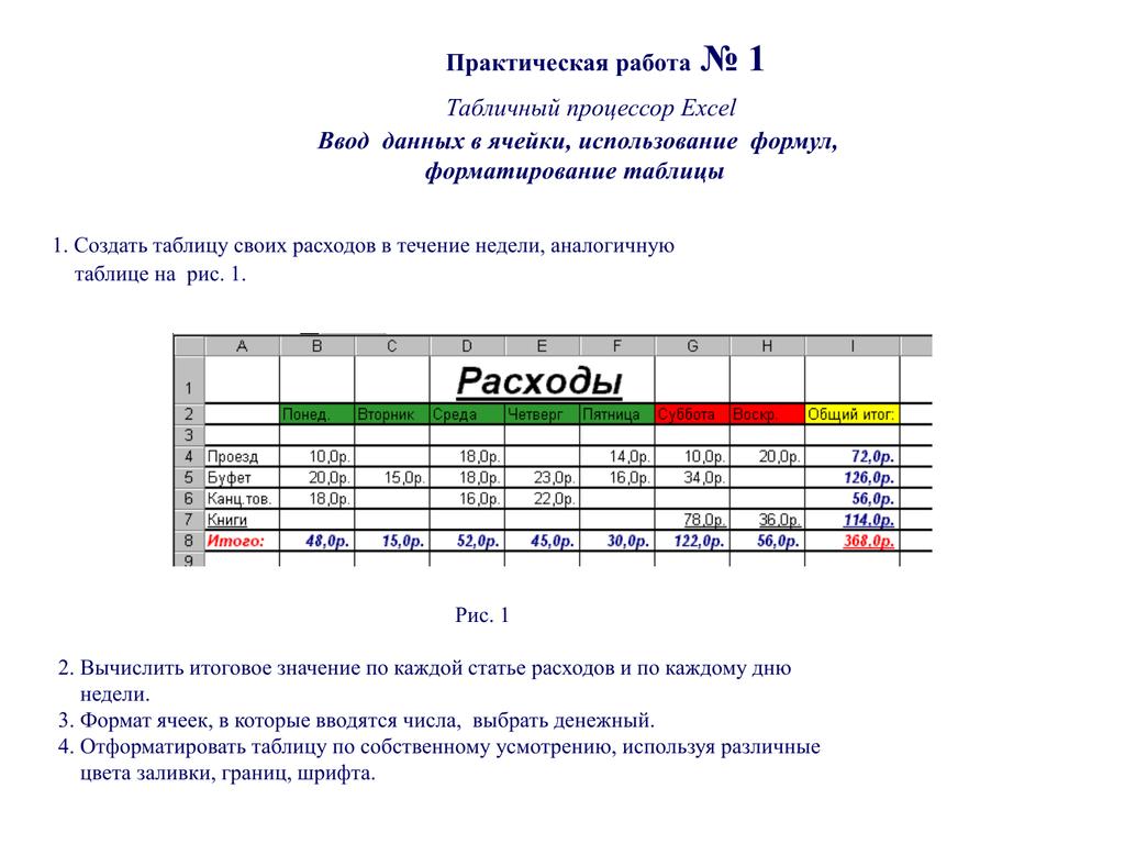 13.табличные процессоры.общая характеристика табличных процессоров.