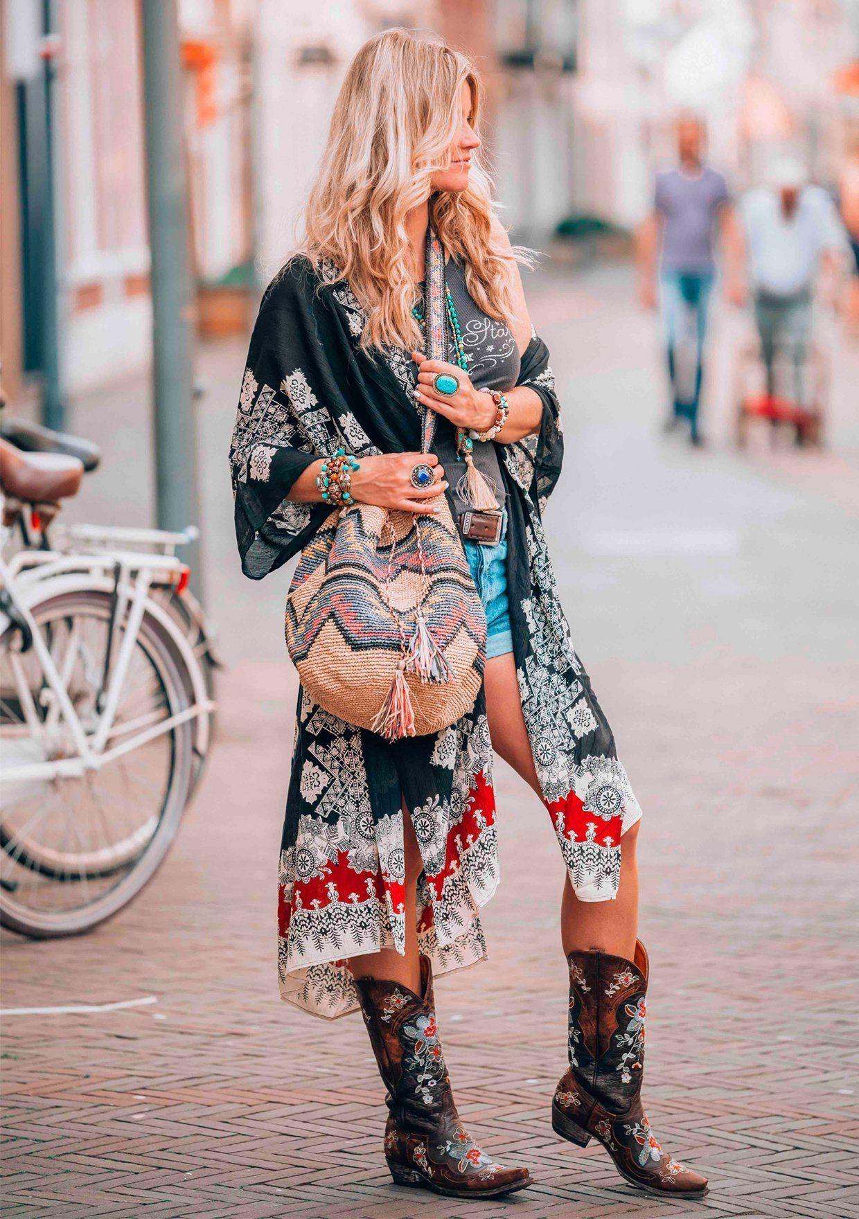 Бохо стиль в одежде - что это такое, как правильно нрсить?,  журнал