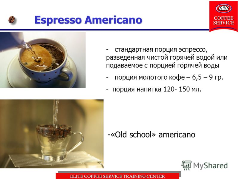 Американо: особенности напитка, выбора зерна, обжарка, технология