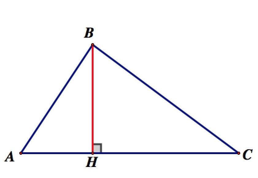 Высота треугольника — википедия с видео // wiki 2