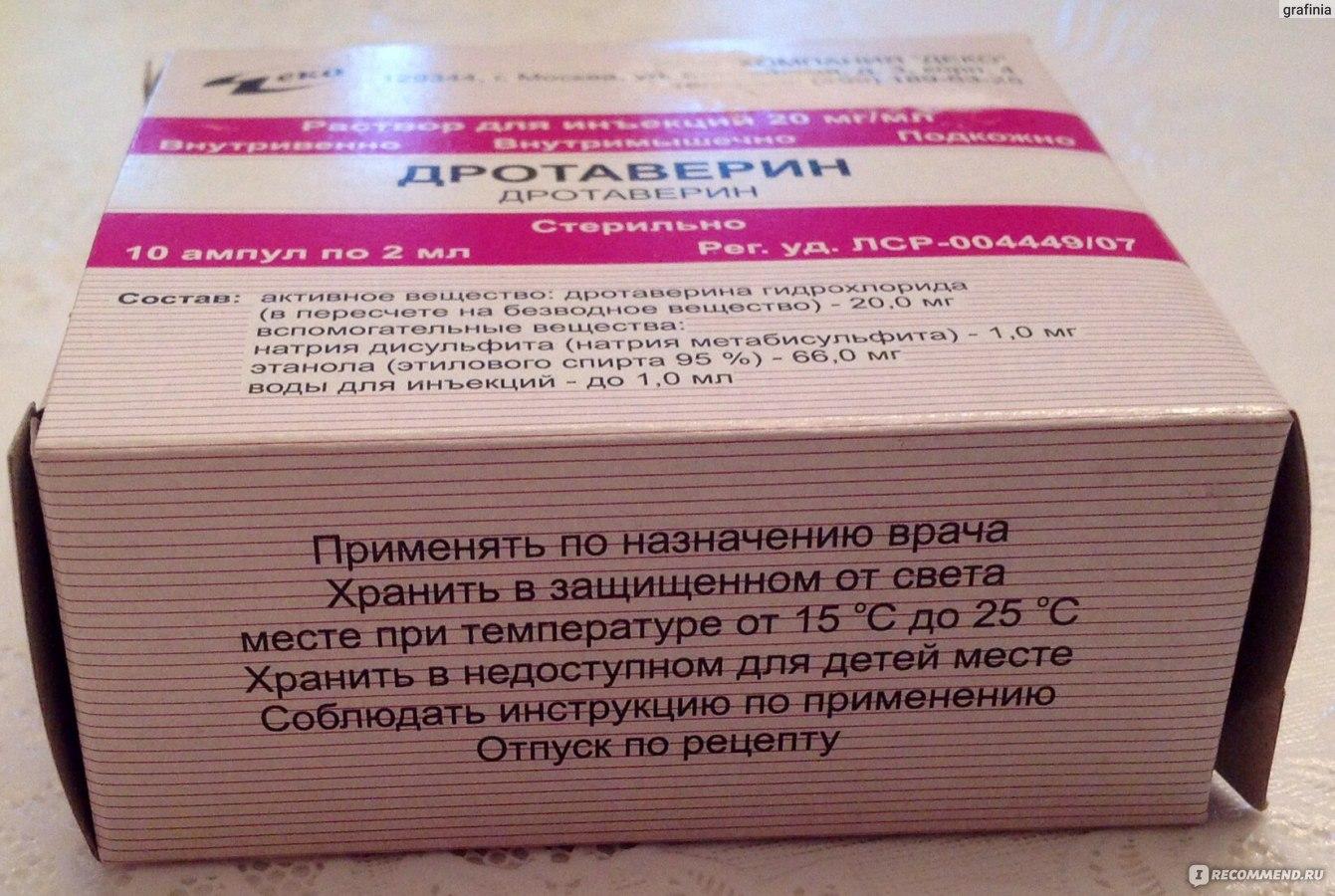 Дротаверин – от чего эти таблетки, кому и как их нужно принимать?