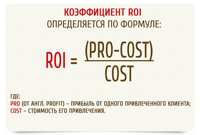 Roi — что это такое, по какой формуле рассчитать и примеры в маркетинге | owox bi