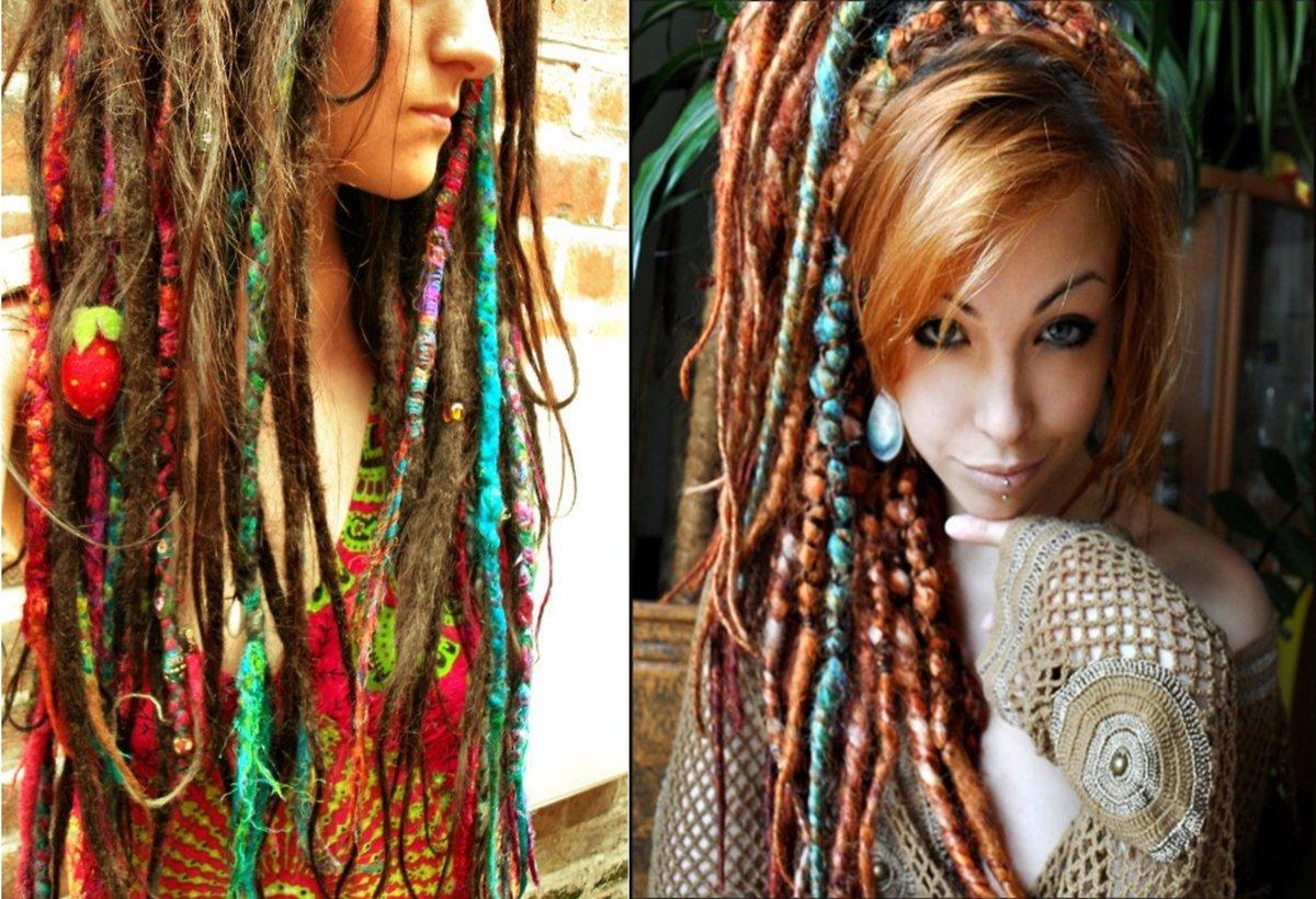 Женские дреды: фото девушек на короткие, средние и длинные волосы, стоимость безопасных, искуственных, тонких и де дредов