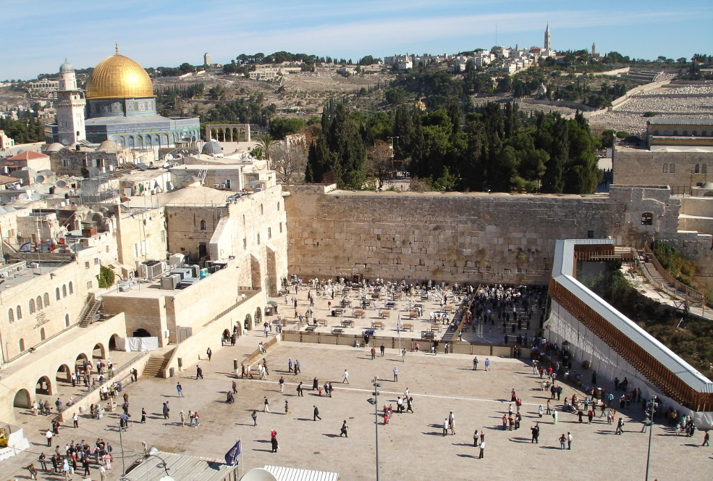 Где находится стена плача в иерусалиме? описание + фото + видео