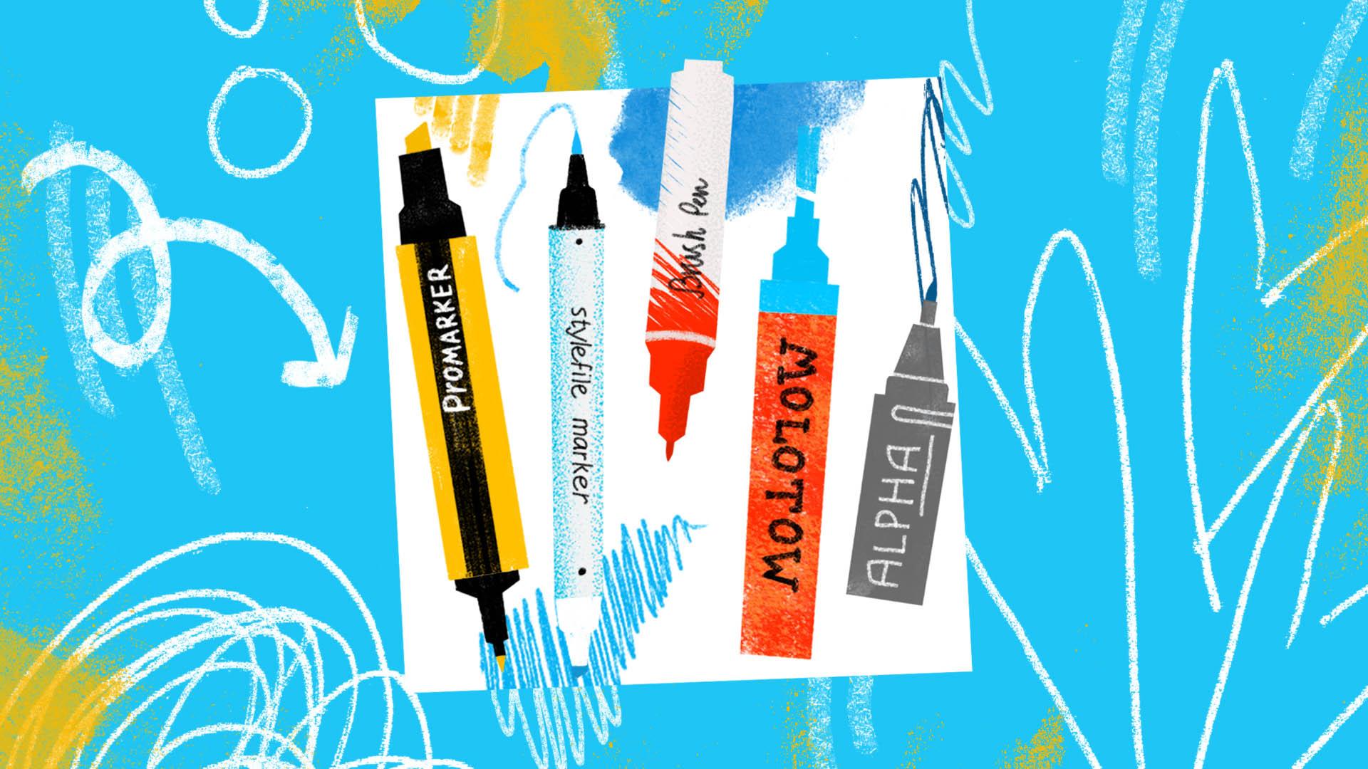Перманентный карандаш – преимущества, какой выбрать.