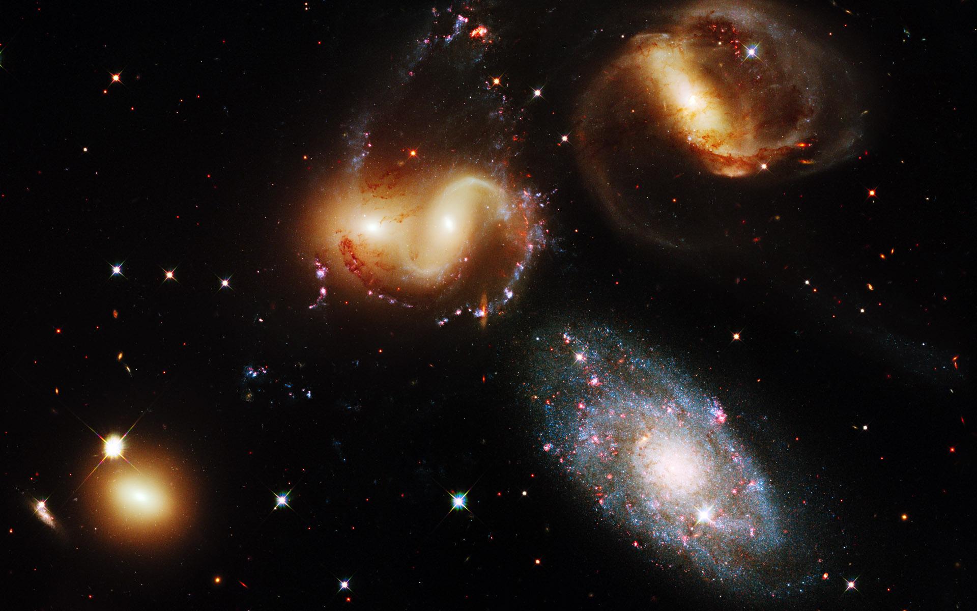 Строение и жизнь вселенной