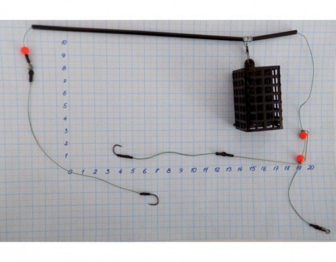 11 фидерных монтажей для течения и стоячей воды