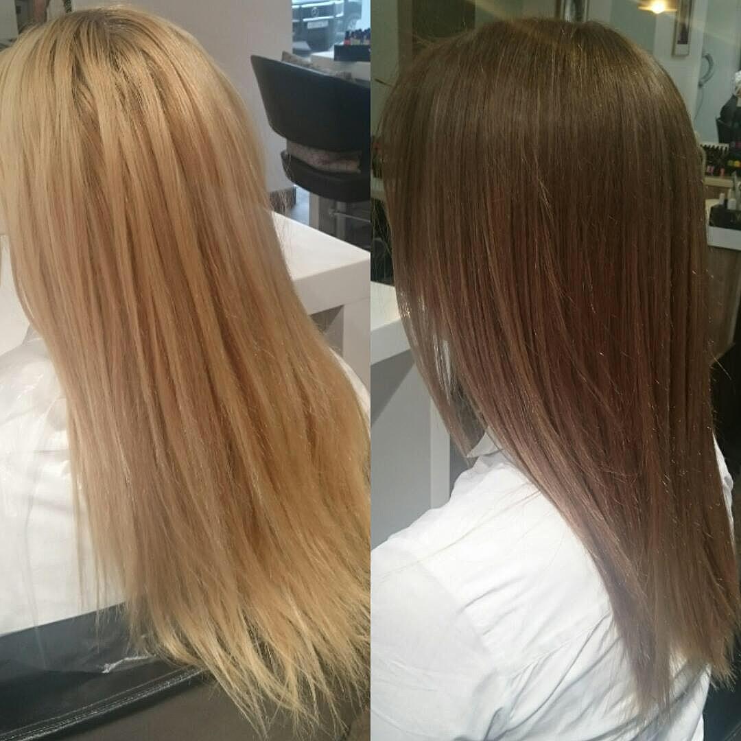 Тонирование волос в салоне: подробное описание процедуры