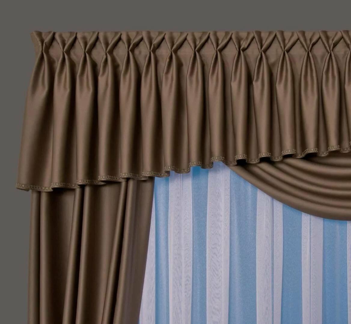 Что такое ламбрекен: текстиль в современном интерьере