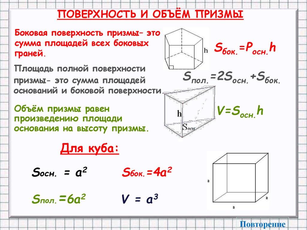 Призма (геометрия) — википедия с видео // wiki 2