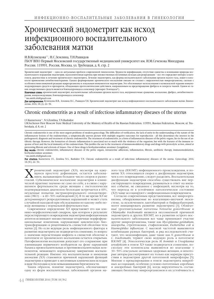 Эндометрит – симптомы и лечение эффективными препаратами и народными средствами