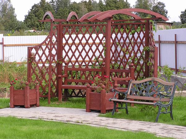 Малые архитектурные формы (маф) - беседки, перголы, детские площадки, садовая мебель