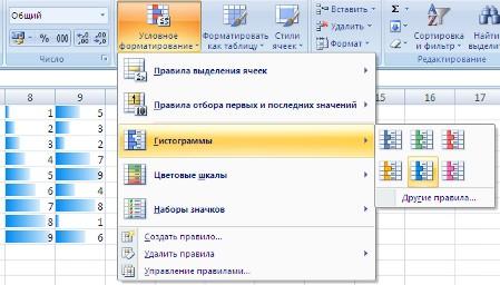 Условное форматирование из сводной таблицы excel