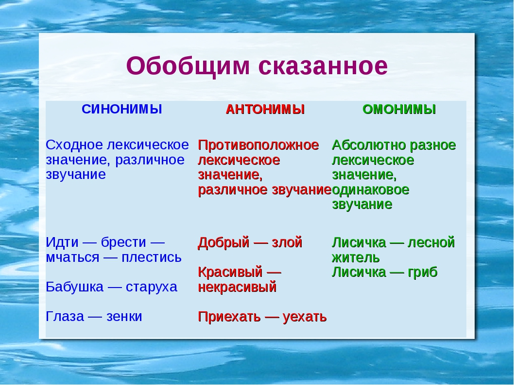 Слова-омонимы в русском языке, примеры и значение, как применять омонимы в речи,в морфологии русского языка,опредложения с омонимами.