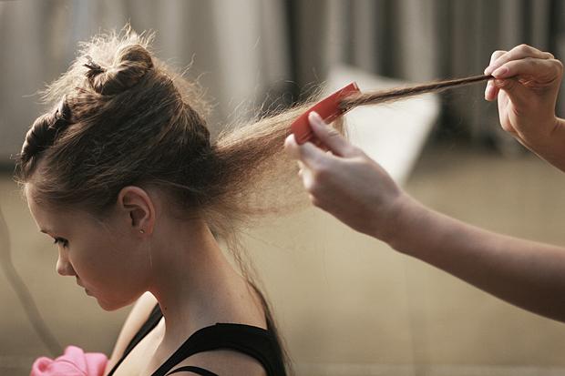 Hothair.ru - прически с начесом на средние и длинные волосы