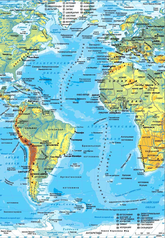 Интересные факты о море