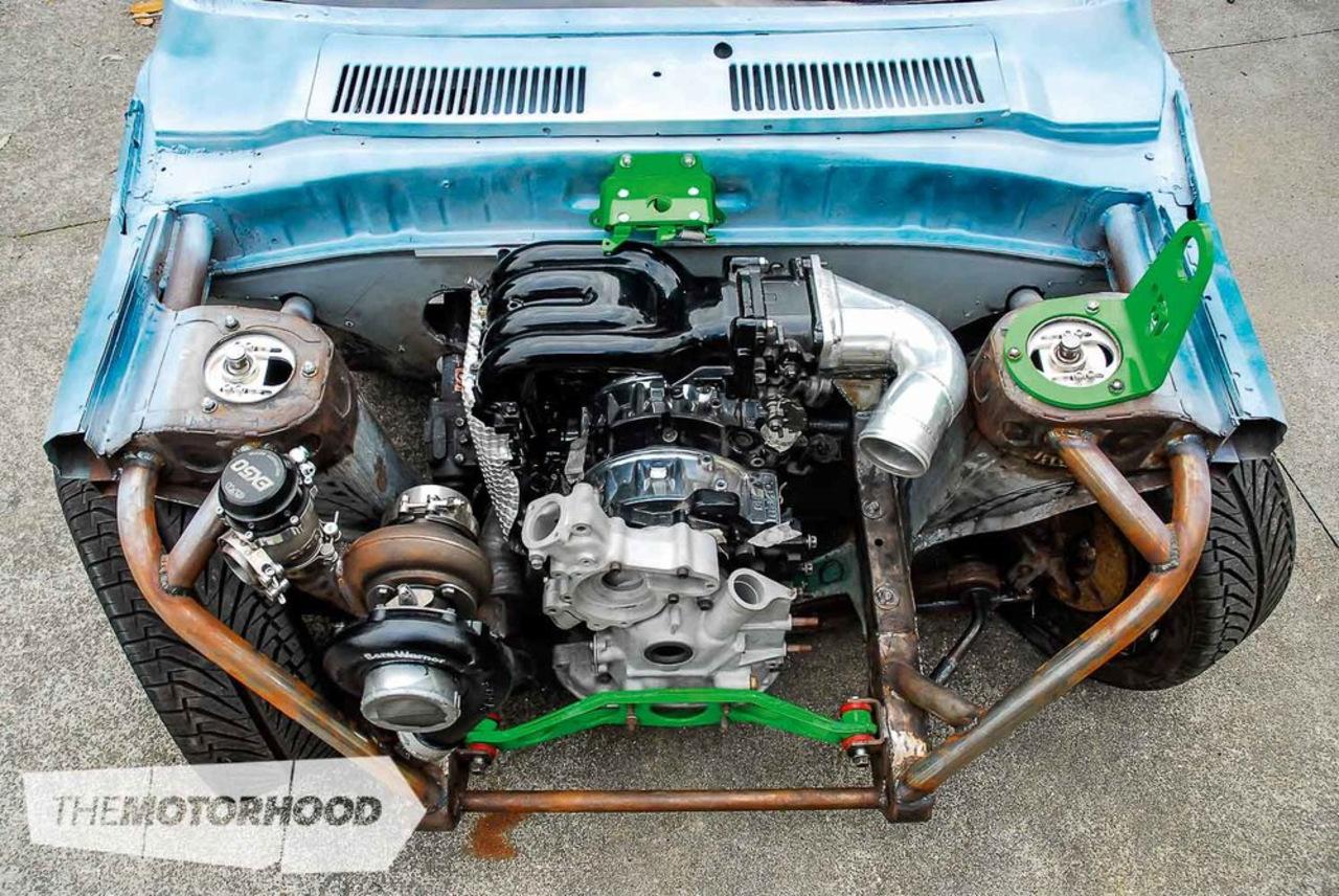 Swap двигателя