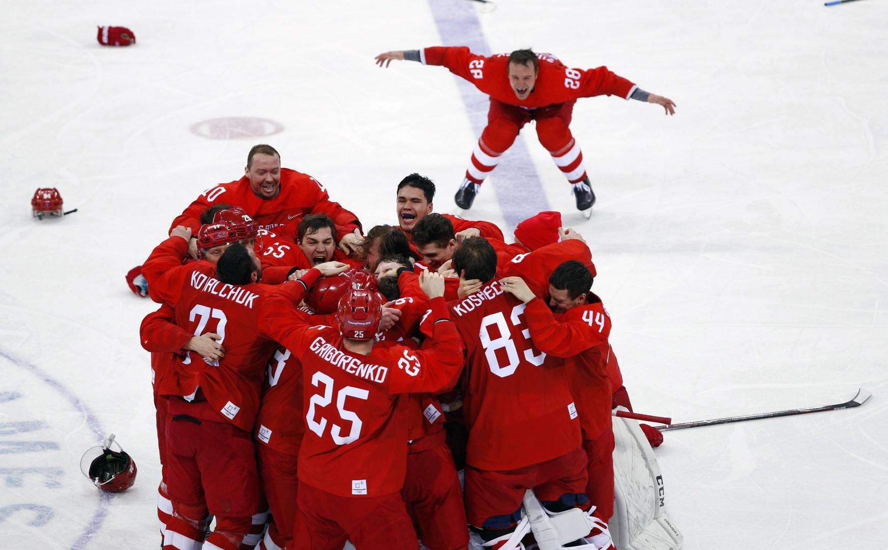 Хоккей с шайбой в россии