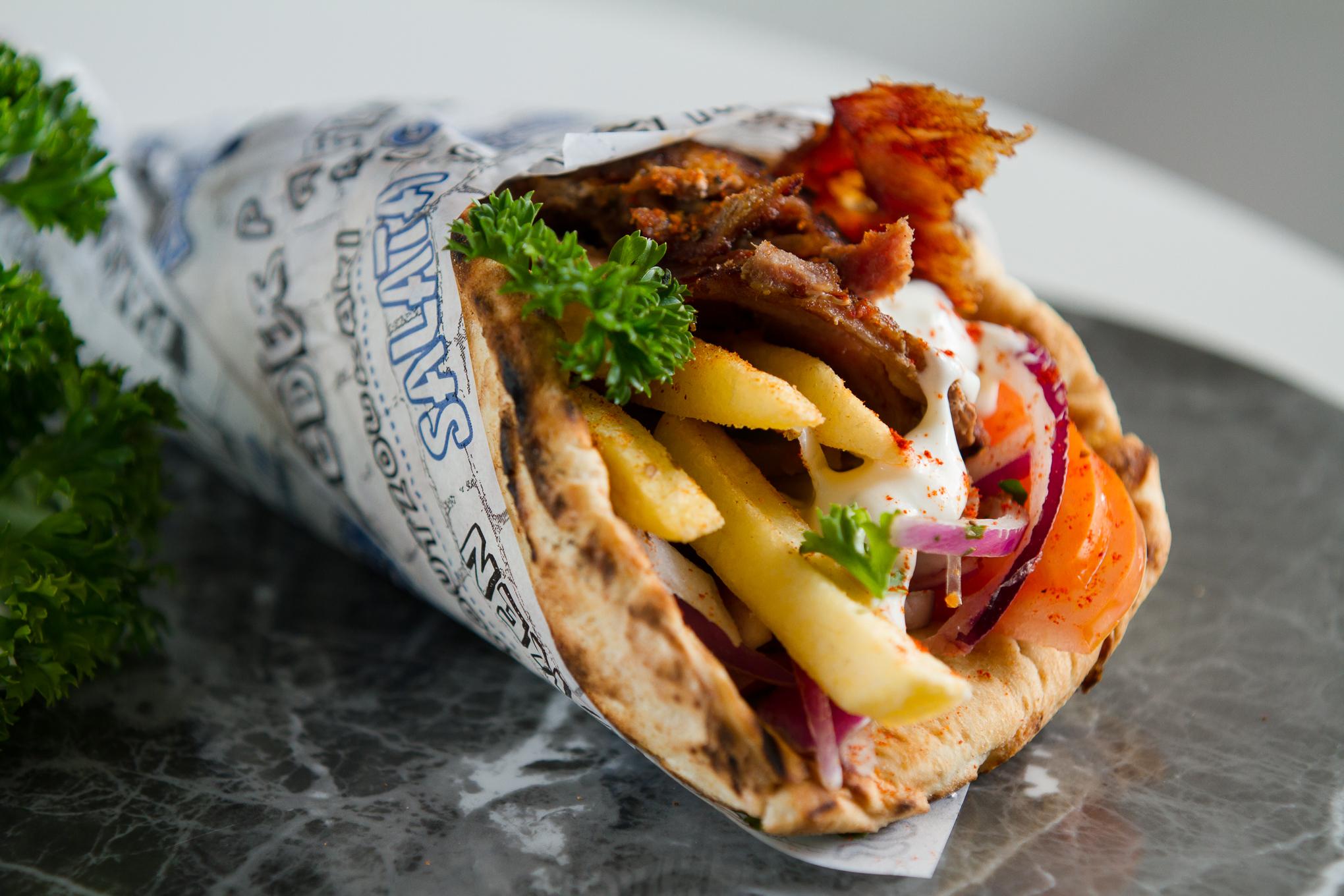 Греческий гирос рецепт с фото - 1000.menu