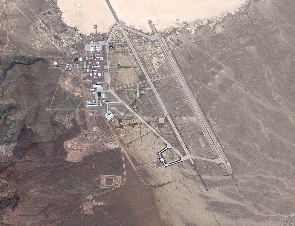 Зона 51 (area 51): что там происходит, координаты на карте со спутника