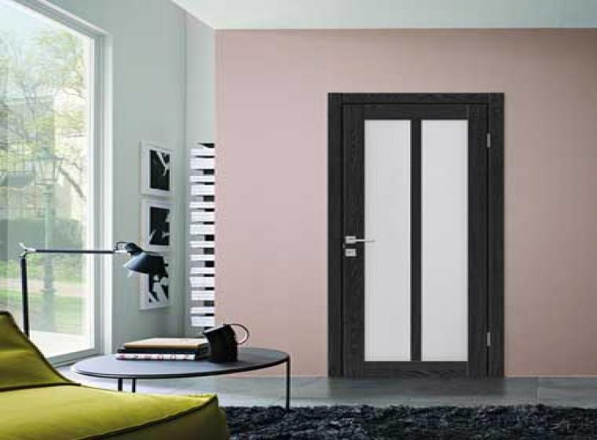 Межкомнатные двери с фотопечатью: раздвижные и гармошка в интерьере