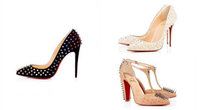 Лабутены: роскошная обувь и откуда они взялись