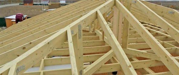 Стропильная система двухскатной крыши: 2 основных вида стропил – нюансы конструкции, расчеты и этапы монтажа