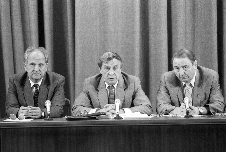 Августовский путч 1991 года кратко