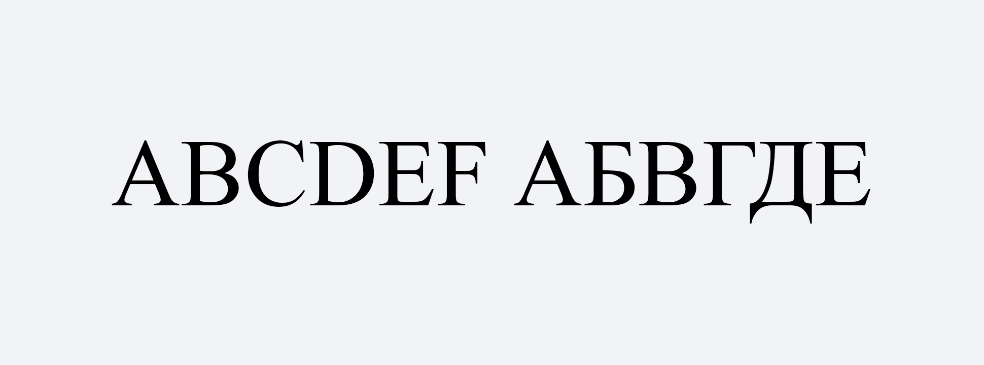 Выбираем веб-шрифты: руководство для начинающих / хабр