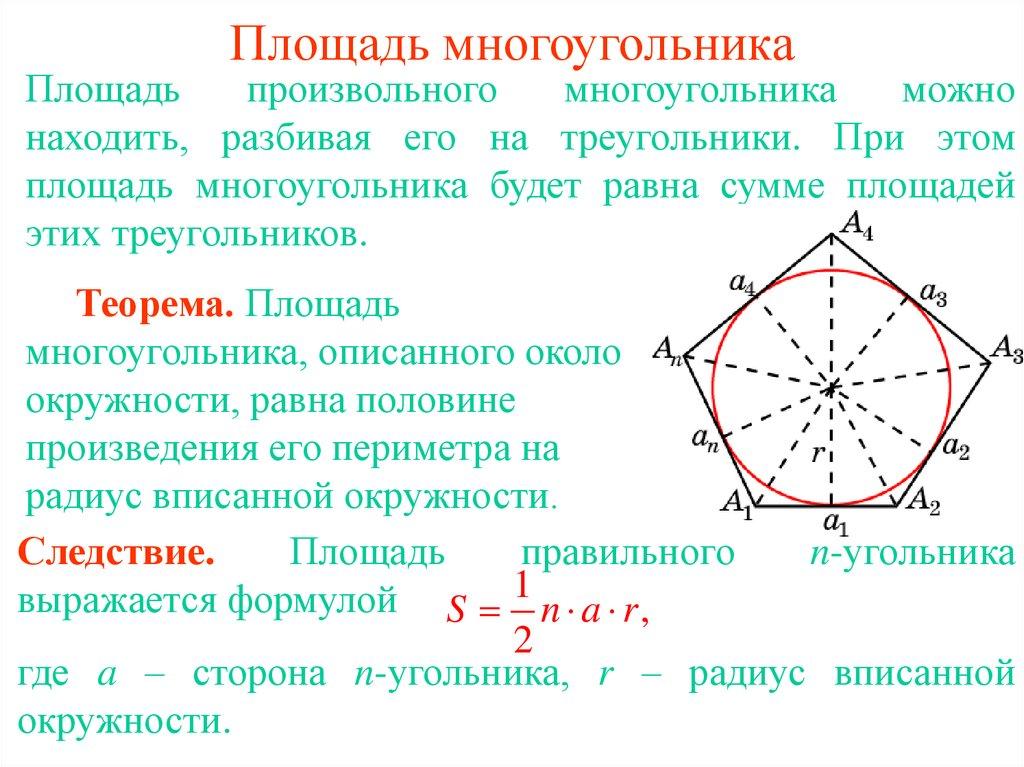 Урок 3: площадь - 100urokov.ru