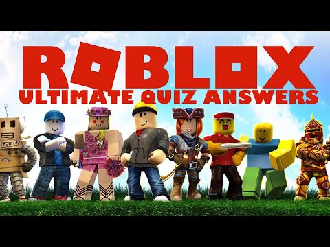 The ultimate roblox quiz - my neobux portal