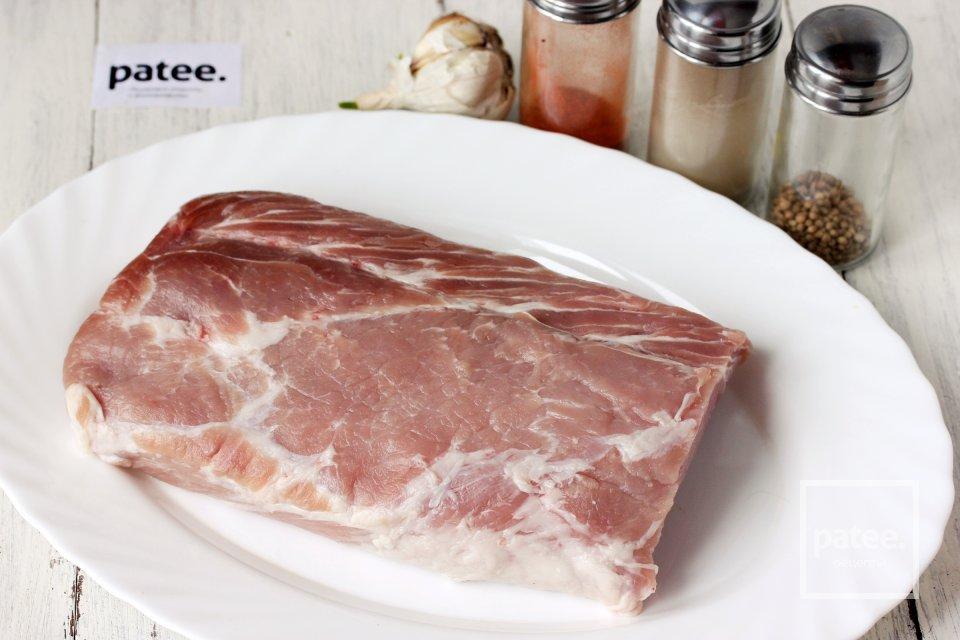 Корейка свиная - это какая часть туши и как выглядит?