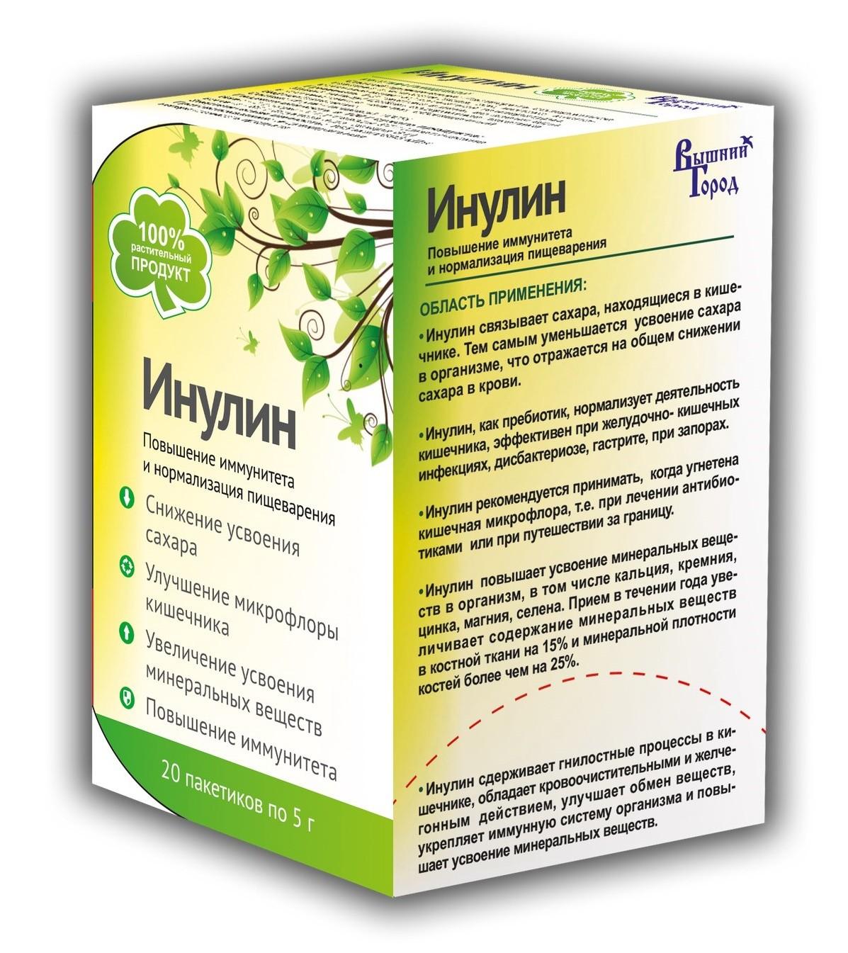 Инулин - что это такое, инструкция по применению, польза и вред препарата, цены