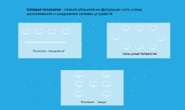 Топологии сетей передачи данных