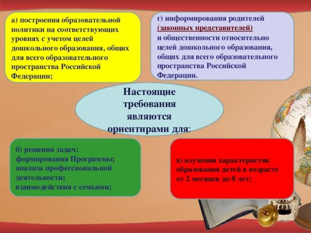 Целевые ориентиры как результат возможных достижений освоения воспитанниками программы