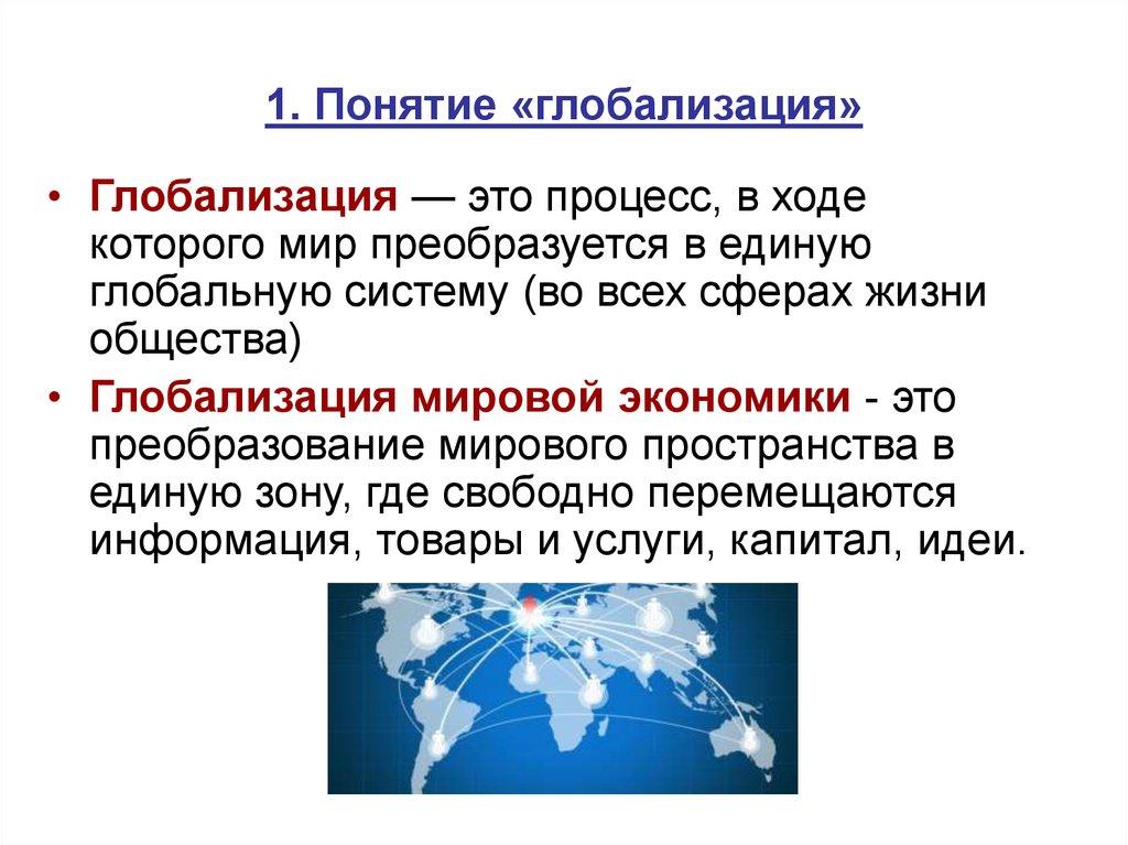 Что такое глобализация - узнай что такое