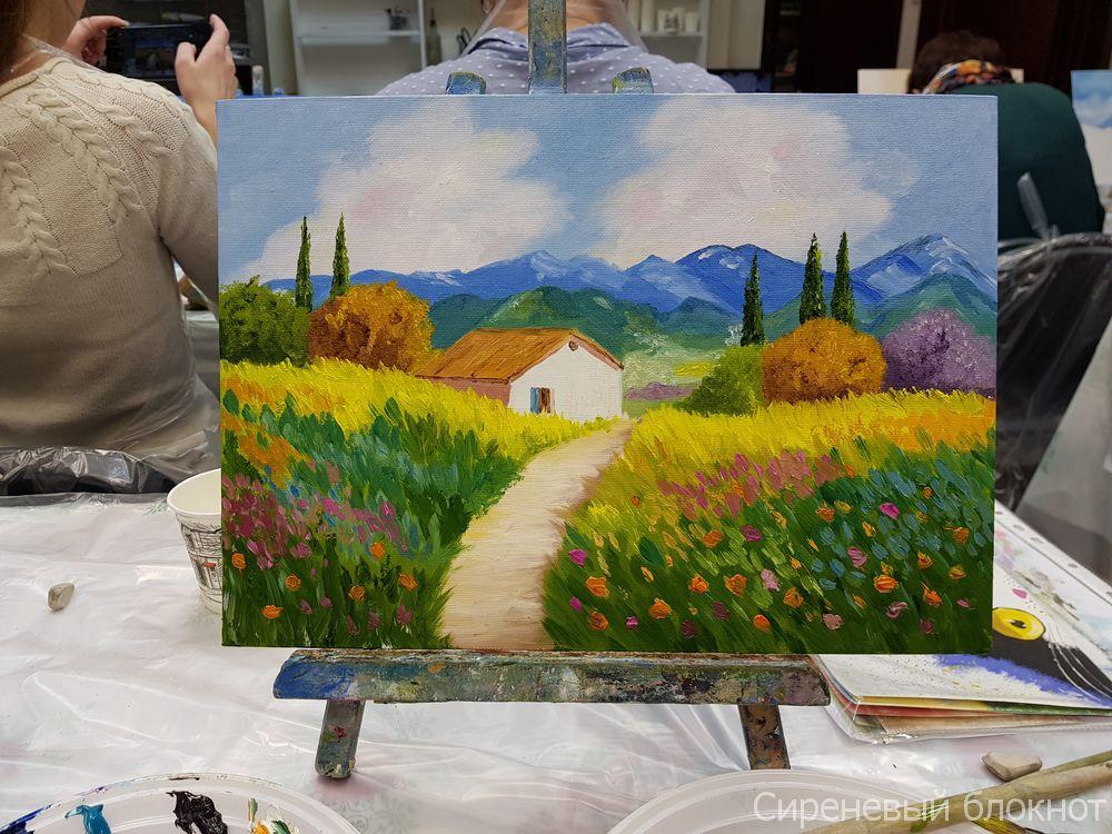 Картина панно рисунок фоторепортаж рисование и живопись правополушарное рисование - рисуют все гуашь