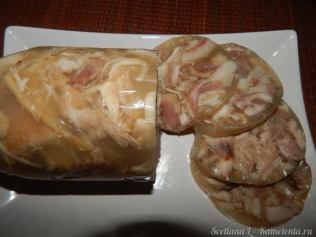 Свиной калтык - определение и как его приготовить на обед?