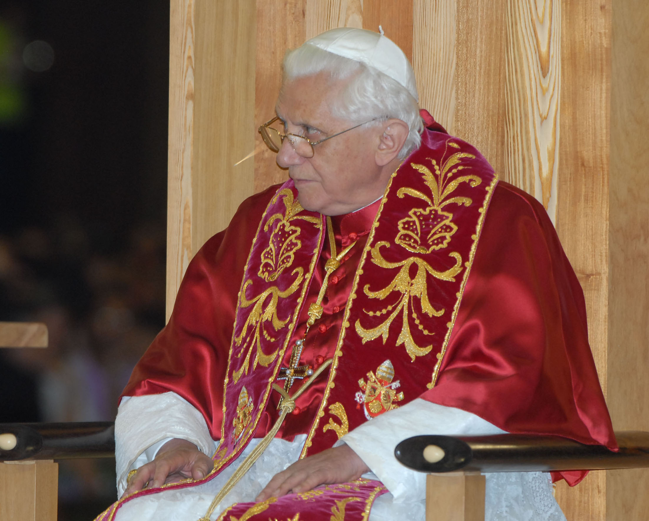 Папа римский, россия - деловой квартал