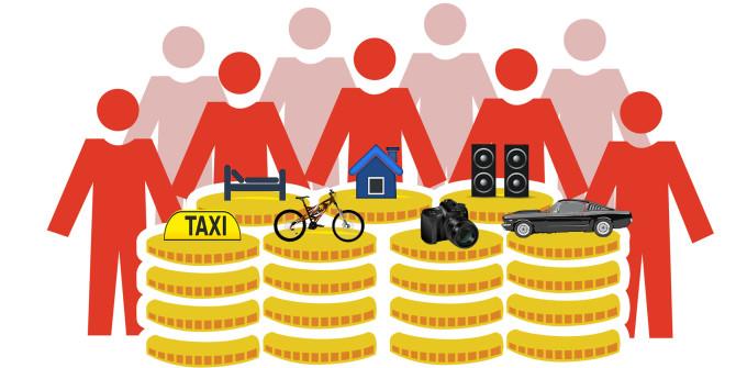 Что такоешеринговая экономика | арендуй и властвуй