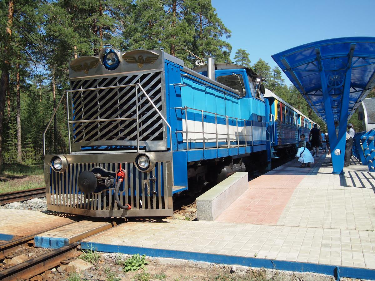 Детская железная дорога в ярославле